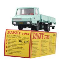 Diecast 1/43 Dinky Atlas Toys Car 569 BASCULANTE Laterale Berliet Stradair Benne