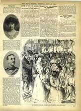 1902 Kensington Gardens Children's Coronation Grace Ibrox Verdict