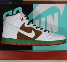 Nike Dunk High Cali Premium SB Skate Pecan/White VTG 2014 [313171-201] Men's 11