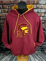TEAM EDITION USC TROJANS SOUTHERN CALIFORNIA Hooded Hoodie Sweatshirt MEN XL XXL