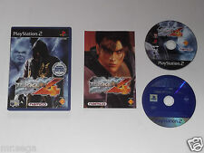 Tekken 4 Doble Disco Edition para PLAYSTATION 2 tienen muy raro y difícil de encontrar""