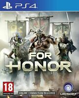 For Honor (Sony Playstation 4 PS4) - FAST & FREE P&P