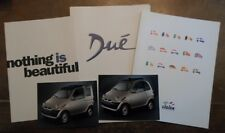 LIGIER Microcars 1999 UK Mkt Large Format Brochure Pack with Photos - Ambra Due