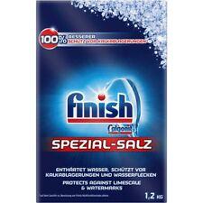 3x 1,2 kg Geschirrspüler Salz Calgonit finish Spezial Salz Kalkschutz