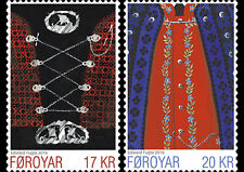 Faroer faroyar islands 2016 Natkional costumes gummed stamps mnh/postfris c