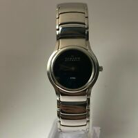 Skagen Womens Denmark 256SSXB Black Quartz Analog Stainless Steel Wristwatch