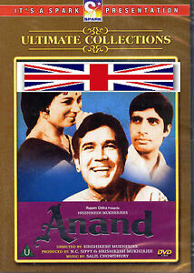 ANAND - AMITABH BACHAN - NEW ORIGINAL BOLLYWOOD DVD