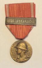 Medaglia Battaglia di Verdun 1916 Modello Prudhomme Francia WW1