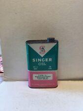 Vintage Singer Sewing - Type C Manufacturing Machine Oil - Quart Can