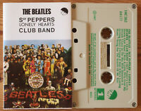 THE BEATLES - SGT PEPPERS... (EMI 14C26204177) GREECE CASSETTE TAPE REISSUE EX!