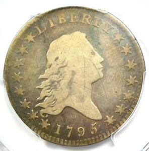 1795 Flowing Hair Bust Half Dollar 50C O-109 - PCGS VG Detail - Rare Coin!