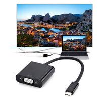 USB 3.1 Type C USB-C to VGA Adapter for Macbook Google Chromebook Pixel Laptop