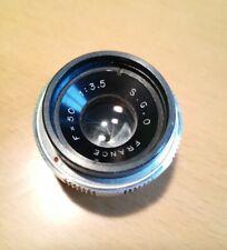 Rare Société Générale d'Optique 50mm f/3.5 french lens [Angenieux]