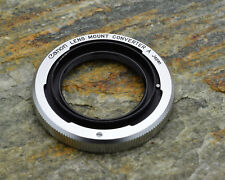 Canon Lens Mount Converter A L39 Rangefinder lens to Canon FL/FD Adapter (#3613)