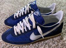 Vintage 1982 Nike Oceania Roadrunner Cortez Running Shoes Size 10.5 Blue Waffle