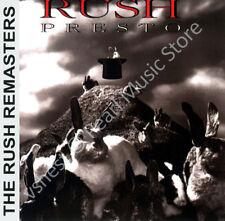 RUSH PRESTO CD MINI LP OBI Geddy Lee Alex Lifeson Neil Peart progressive rock