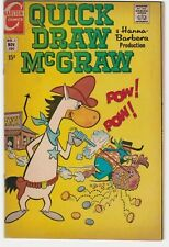 Quick Draw McGraw #1 6.5 F+ Hannah-Barbera Baba Looey Humor Funny Animals