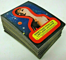 1980 Topps Close Encounters of the Third Kind 77 Movie Photo Cards + 11 Stickers