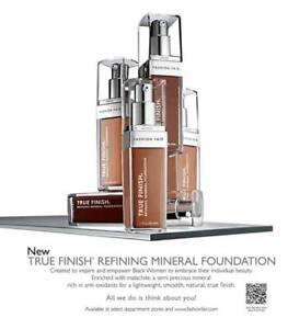 NEW & AUTHENTIC - Fashion Fair True Finish Refining Mineral Foundation