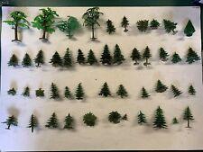 Großes Konvolut Tannen, Bäume, H0, aus Kunststoff, Schnäppchen !!!