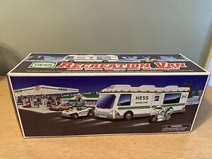 1998 Hess Truck Recreation Van with Dune Buggy and Motorcycle In Original Box