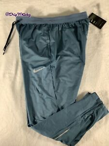 Nike Phenom Men's Knit Running Pants (Blue) size Large (BV4813-418)
