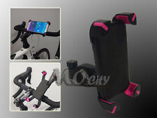 ATV/Bicycle/Bike/Golf Cart Handlebar Mount Holder for Samsung Mobile Phone PINK