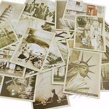 32Pcs Vintage Retro Travel Postcard Landscape Photo Picture Poster Post Cards