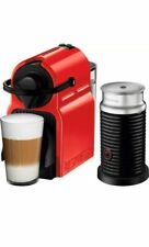 Brevill Nespresso Inissia Bundle Espresso Machine & Milk Frother, Red