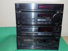 Technics SU-X911 AMP Amplificateur Stéréo double cassette tuner CD Deck Hi-Fi