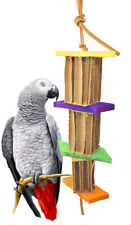 1281 Shredpole Medium Bird Toy parrot cages african grey cockatoo amazon conure