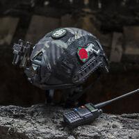 OneTigris Tactical FAST MH/PJ Helmet Cover Combat Gear Airsoft Multicam Black