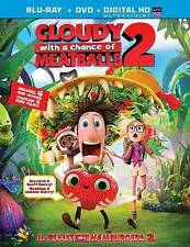 Cloudy With A Chance Of Meatballs 2 (Aws)  Blu-Ray NEW