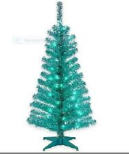 Turquoise And Silver Christmas Tree Decorations  from i.ebayimg.com