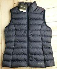 EDDIE BAUER EB650 Women's CirrusLite Down Vest Size L Atlantic Blue Packable
