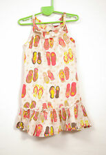 L057/23 Next Girl's Cotton Summer Sleevless Dress , age 2-3