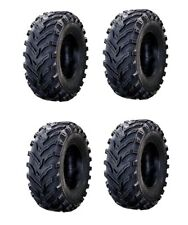 Full Set 25 inch K9 Mud 4 Tires 2 Front 25 8 12 & 2 Rear 25 10 12 6ply ATV