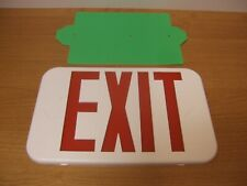 Lithonia Cover Exit Emergency Light Part Sign Fixture Lens Red Green Ecrg 269xvw