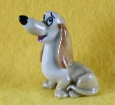 More details for wade disney lady and the tramp hatbox series dachie dog 1956-1965