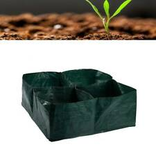 Raised Garden Planter Painting Bed, 4 Divided Grids Durable Square Planting J