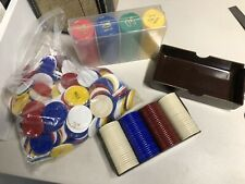 New listing Large Lot Of Poker Chips