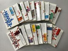 Monster Vol.1-18 Complete Lot Set Manga Comics Japanese Edition FREE SHIPPING