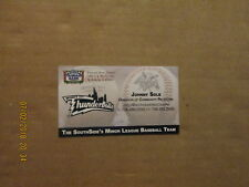 Windy City Thunderbolts Community Relations Baseball Business Card