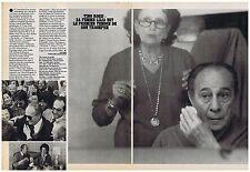 COUPURE DE PRESSE CLIPPING 1982 TINO ROSSI Lilia son 1er témoin  (2 pages)