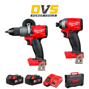 MILWAUKEE M18FPP2A2-502X GEN3 BRUSHLESS FUEL TWIN PACK M18FPD2 M18FID2