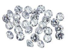 56673 oxydes de zirconium taille diamant rond blanc/couleur - Cut Cubic Zirconia