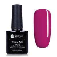 Purple Nail UV Gel Polish Soak Off Nail Art  LED Gel Color Varnish 7.5ml