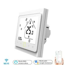 Temperature Controller Wifi Smart Touch Thermostat Water Electric Floor Heating