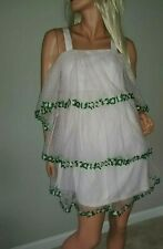 OMG WOWOWO new ASOS swiss dot tiered FAIRY embroidered wedding dress 4