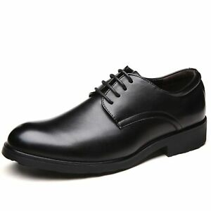 Men's Business Oxford Casual Outsole Simple Classic Pure Color Formal Shoes